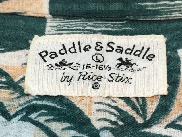 6月4日(土)入荷!50s シアサッカー paddle&Saddle シャツ!_c0144020_1522421.jpg
