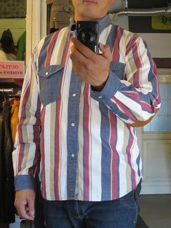 マルチストライプモトシャツ_a0357325_1381441.jpg