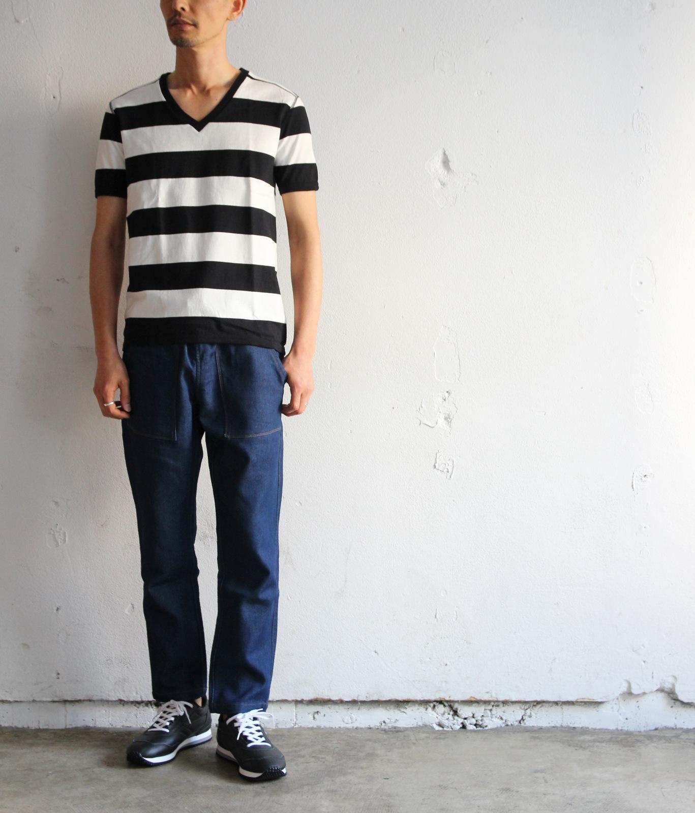 Perfect Inner Wide Border V T-shirt_e0142928_18425778.jpg