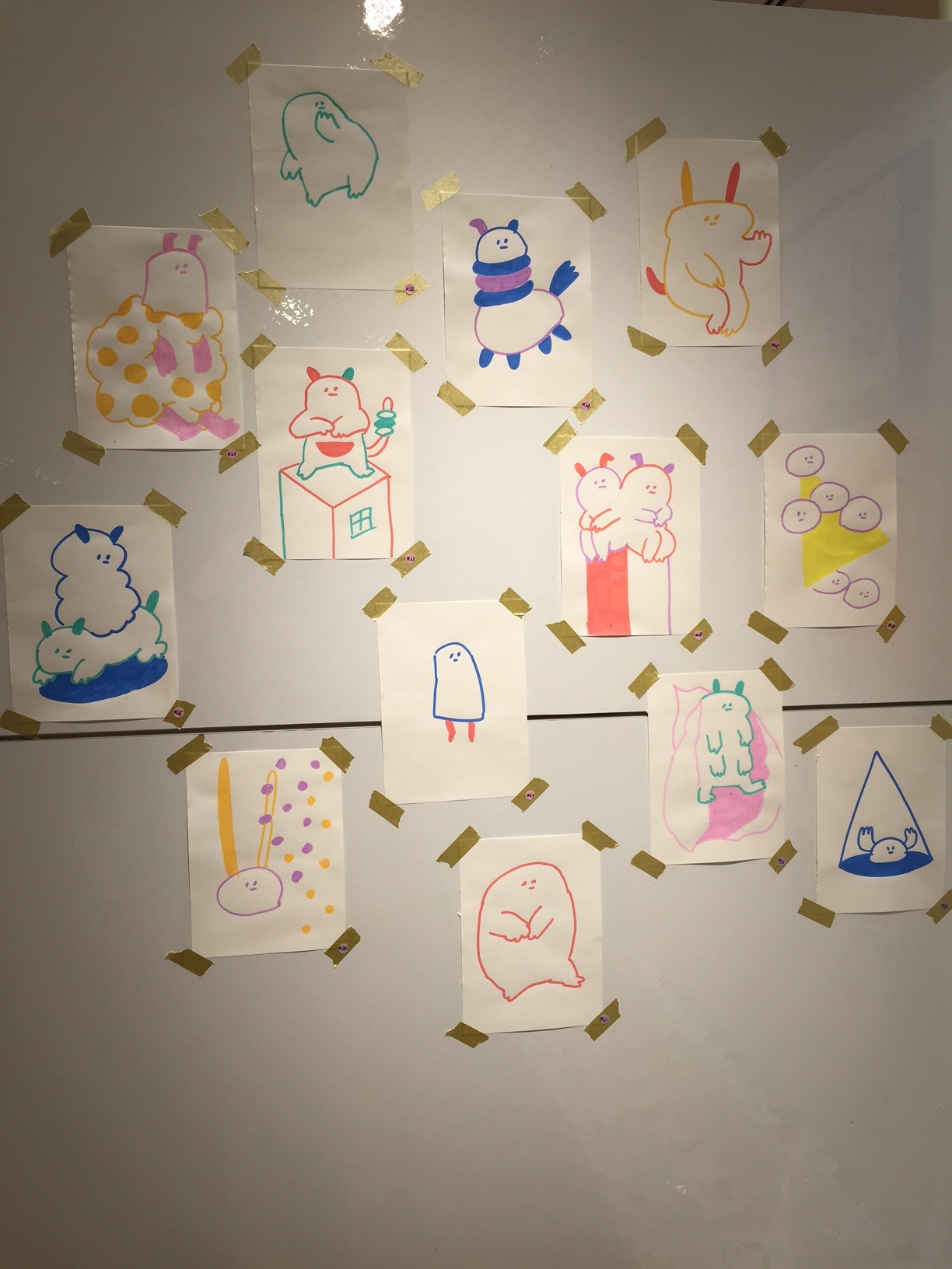 6/3~6/15 グレ個展『RAKUGAKI』展 開催のお知らせ _f0010033_1762891.jpg