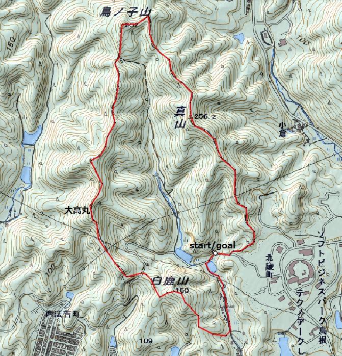 松江近郊のトレランコース⑤_d0007657_19501547.jpg