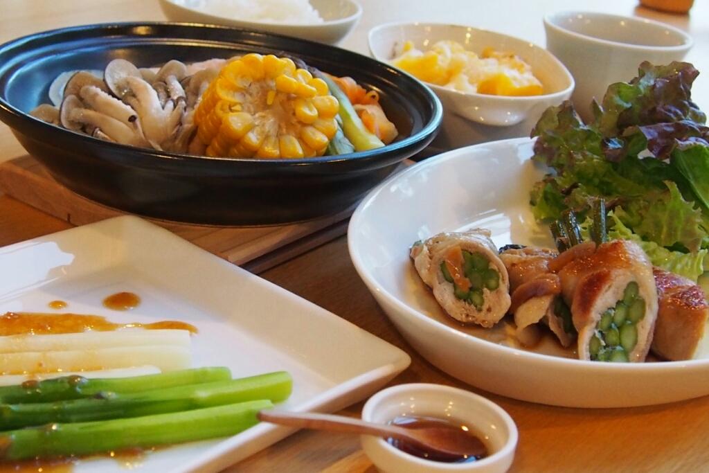 美瑛の丘の宿ほおずきの夕食は、_b0106766_21201104.jpg