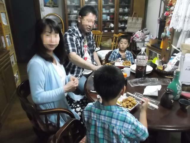長男家族が秋田へ到着_f0019498_2234885.jpg
