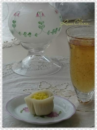お茶の花・・・のお菓子_f0230127_23065801.jpg
