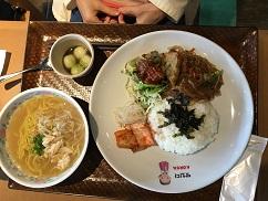 神田外語大学の学食で昼食しました_f0045667_19151181.jpg