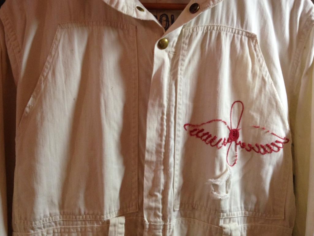 神戸店6/8(水)ヴィンテージ&スーペリア入荷!#1  1930\'s  Burlington St.Joseph Aero Club Flight Suit!!!_c0078587_1237148.jpg