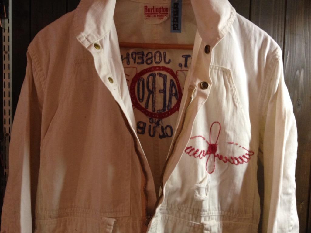 神戸店6/8(水)ヴィンテージ&スーペリア入荷!#1  1930\'s  Burlington St.Joseph Aero Club Flight Suit!!!_c0078587_1237286.jpg