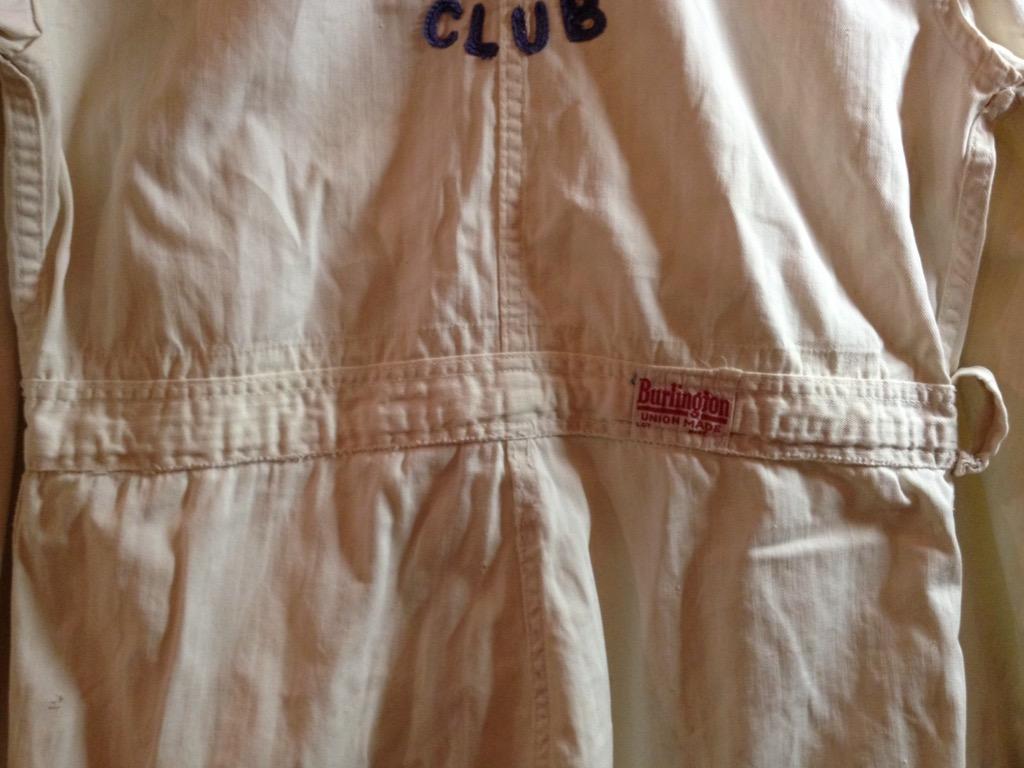 神戸店6/8(水)ヴィンテージ&スーペリア入荷!#1  1930\'s  Burlington St.Joseph Aero Club Flight Suit!!!_c0078587_12415044.jpg