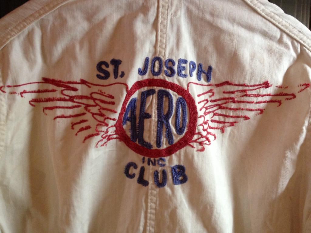 神戸店6/8(水)ヴィンテージ&スーペリア入荷!#1  1930\'s  Burlington St.Joseph Aero Club Flight Suit!!!_c0078587_12422683.jpg