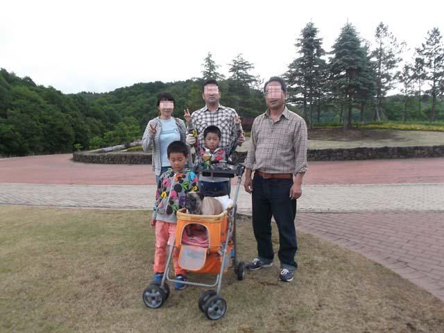 孫たちと山の公園へ 長男の作ったお弁当_f0019498_17492654.jpg