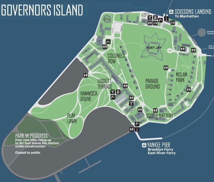 ニューヨークのお手軽なオススメ避暑地、ガバナー島へ_b0007805_11541229.jpg