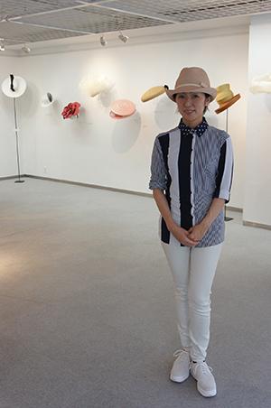 石田欧子 帽子展 「LE COUP DU CHAPEAU−パリの後で」開催中です!_f0171840_14434218.jpg