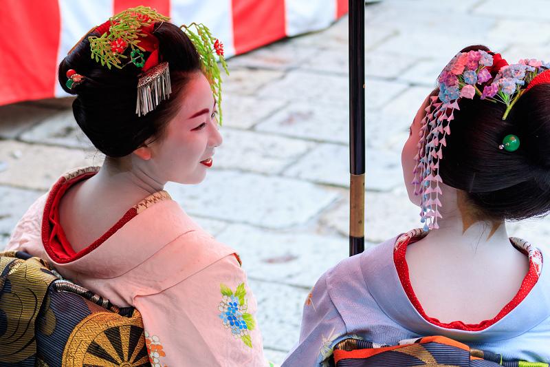 祇園放生会/ぎおんほうじょうえ(祇園甲部豆純さん、豆こまさん)_f0155048_012930.jpg