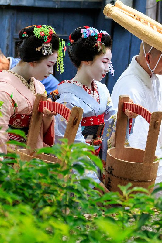 祇園放生会/ぎおんほうじょうえ(祇園甲部豆純さん、豆こまさん)_f0155048_0141461.jpg
