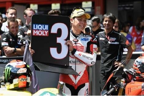 大谷で連敗ストップ、中上貴晶表彰台そしてロッシが今季2勝目_d0183174_08465566.jpg