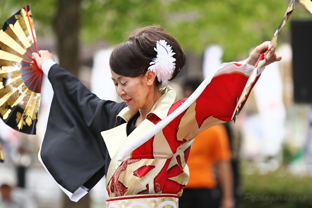 音羽華炎 @ 第13回犬山踊芸祭_c0187584_1050060.jpg
