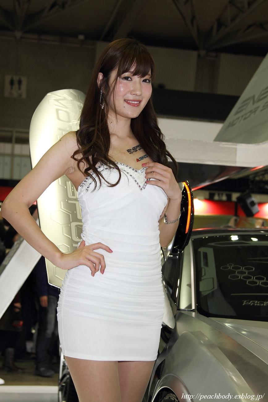 小原みき さん(energy Motor Sport) Peach Body