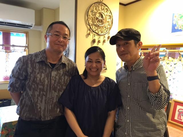 第364回のゲストは、アジアン料理店の田中正弘さん・ルニさんご夫婦!_b0172620_19245019.jpg