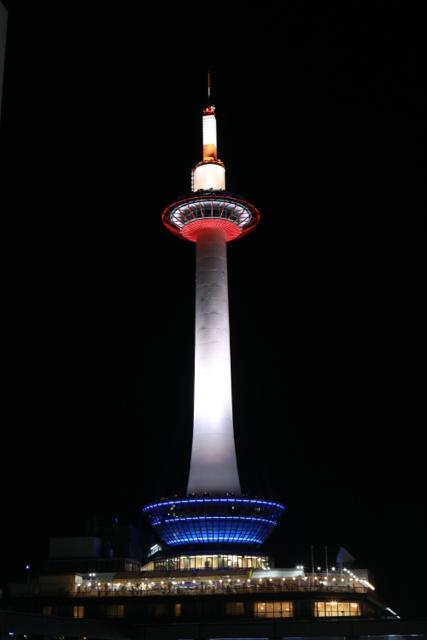 京都タワー。 京都旅行 - 11 -_f0348831_19241315.jpg