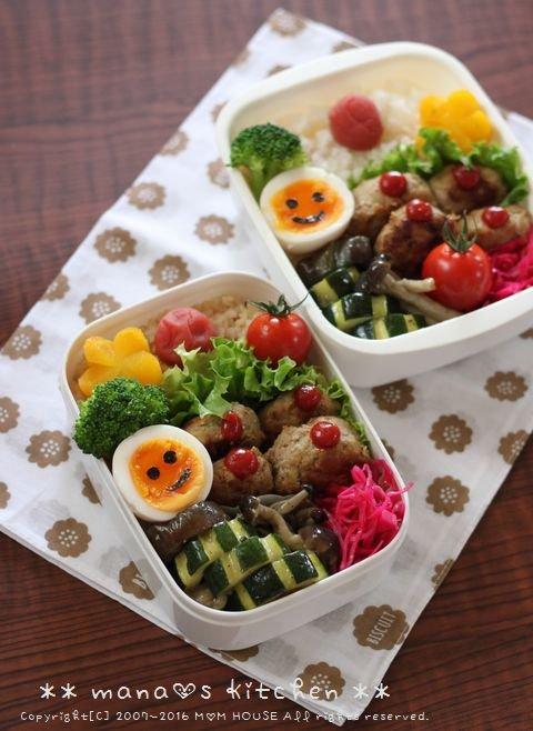 おからハンバーグ弁 ✿ アジフライ定食♪_c0139375_11355143.jpg