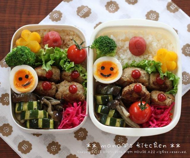 おからハンバーグ弁 ✿ アジフライ定食♪_c0139375_11364495.jpg