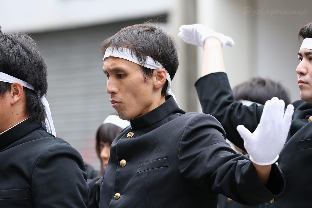 青春応援団 我無沙羅 @ 第13回犬山踊芸祭_c0187584_10312433.jpg