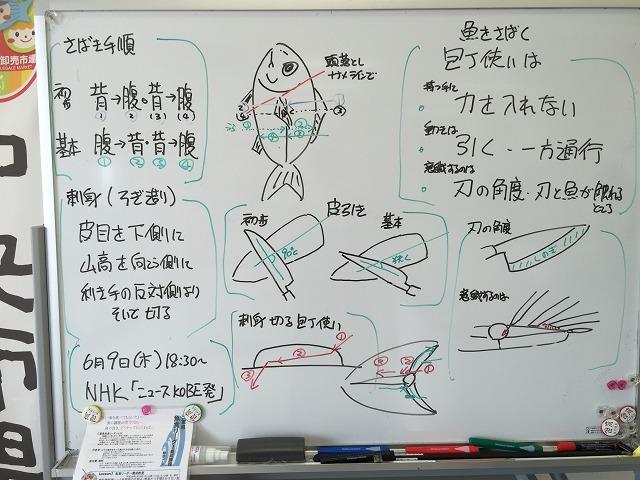3週連続 魚のさばき方教室_d0268290_6283261.jpg