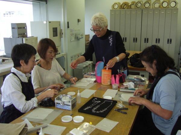 中村先生マイスター講座「より線を使ったペンダントとリング」_f0181217_16380310.jpg