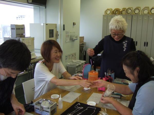 中村先生マイスター講座「より線を使ったペンダントとリング」_f0181217_16382582.jpg