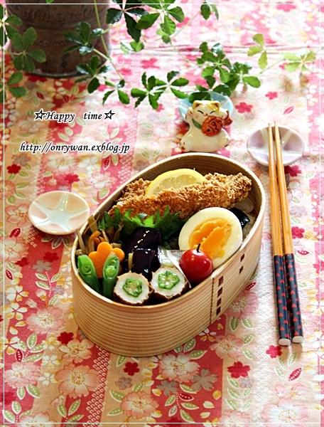 白身魚フライでのり弁当と常備菜にも・照焼きこんにゃく♪_f0348032_18455750.jpg