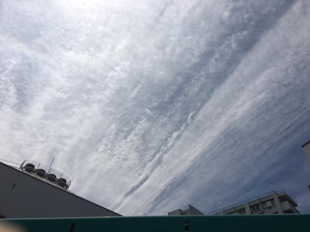久しぶりに…雲。(^^)~じっと見つめてみる。~_b0298740_13021203.jpg