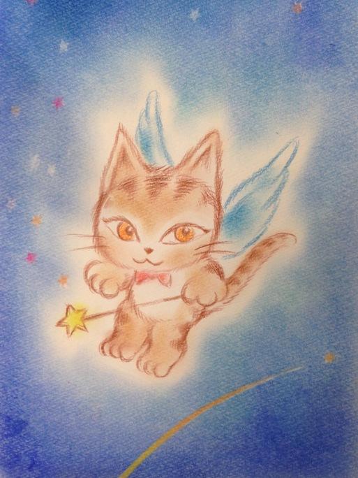 天使キャラクターを描こう_e0082852_10364578.jpg
