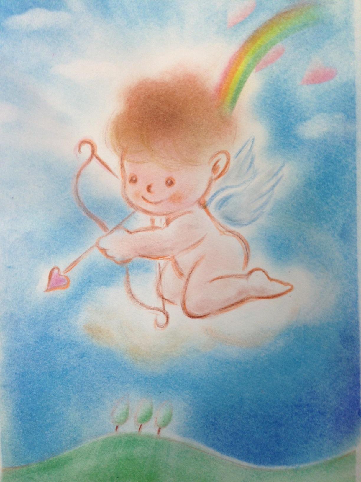 天使キャラクターを描こう_e0082852_10383549.jpg