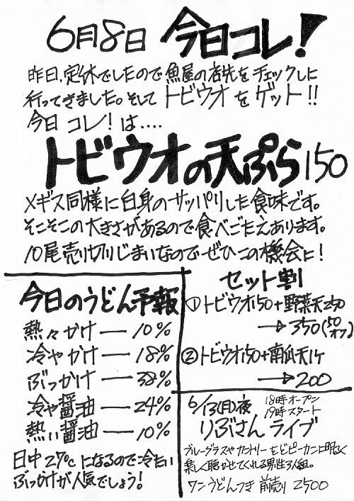 6/8今日コレ!「トビウオ」_c0092877_1044585.jpg