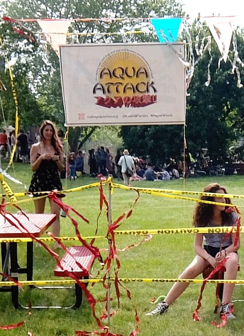 NYのインタラクティブ・アートな水合戦?!、Aqua Attack_b0007805_11254466.jpg