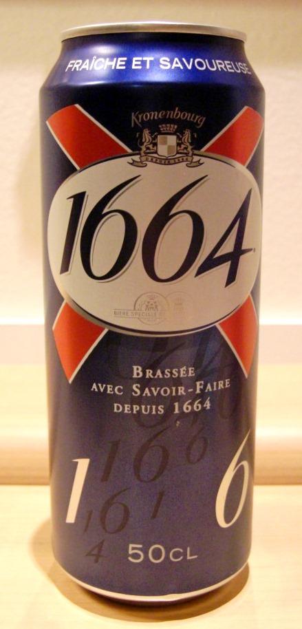 Kronenbourg 1664~麦酒酔噺その545~個人的な思い入れ_b0081121_611837.jpg