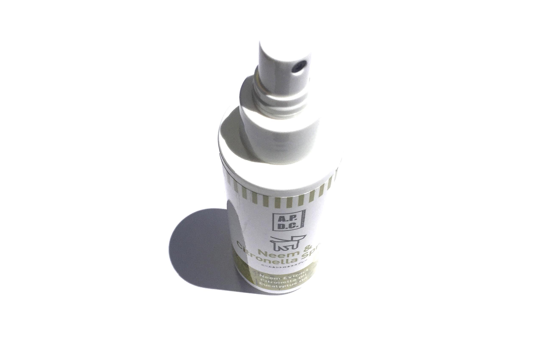 A.P.D.C. Neem & Citronella Spray  ニーム & シトロネラスプレー_d0217958_1157493.jpg