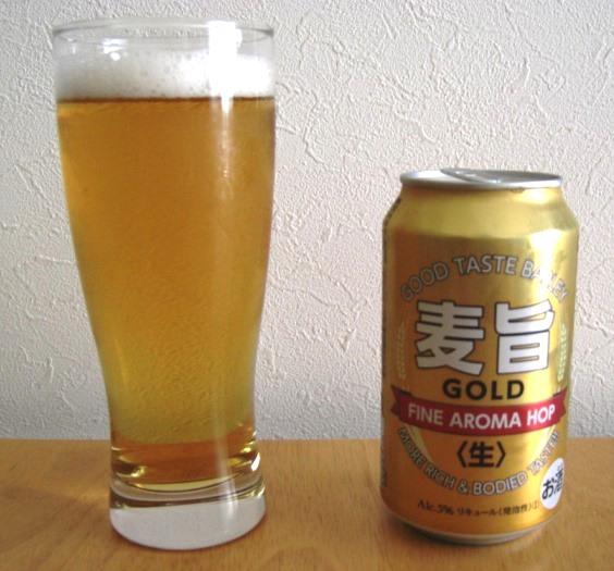 麦旨GOLD ~麦酒酔噺その548~コスパどおり_b0081121_6584852.jpg