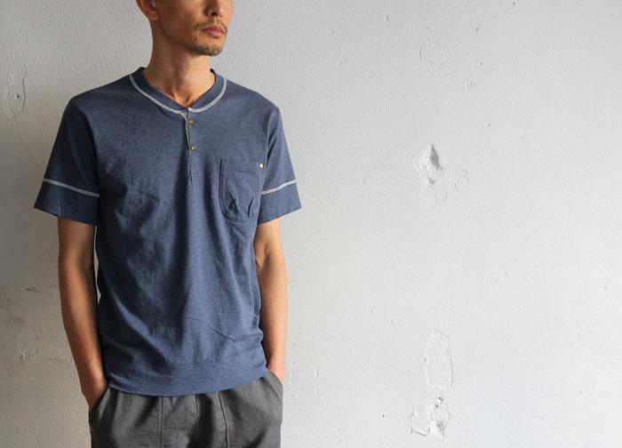 Classic Henley Neck T-shirt _e0142928_1843451.jpg