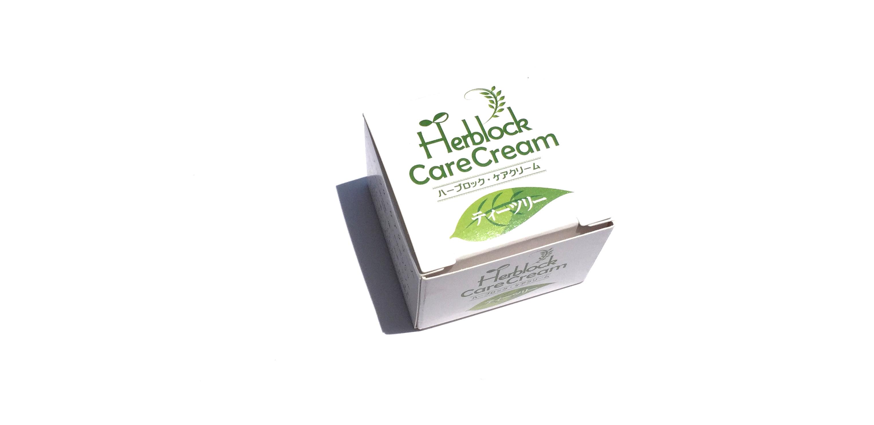 Herblock Care Cream ハーブロック ケア クリーム ティーツリー_d0217958_1929491.jpg