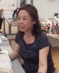 田尻砂津子フックド・ラグ展に行きました。_c0357605_16395511.jpg