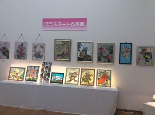 田尻砂津子フックド・ラグ展に行きました。_c0357605_16400710.jpg