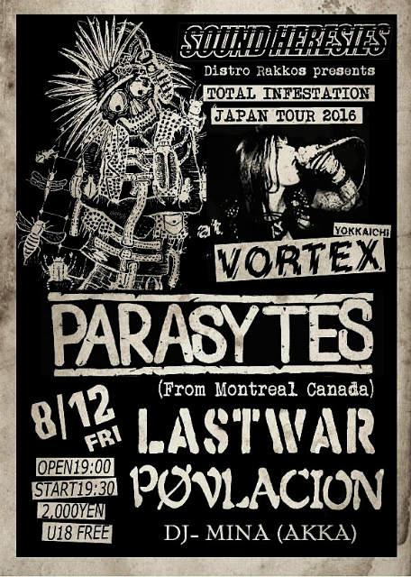 PARASYTES JAPAN TOUR_c0234515_14475031.jpg