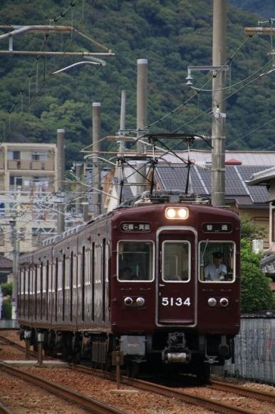 阪急5134F  箕面線_d0202264_14243852.jpg