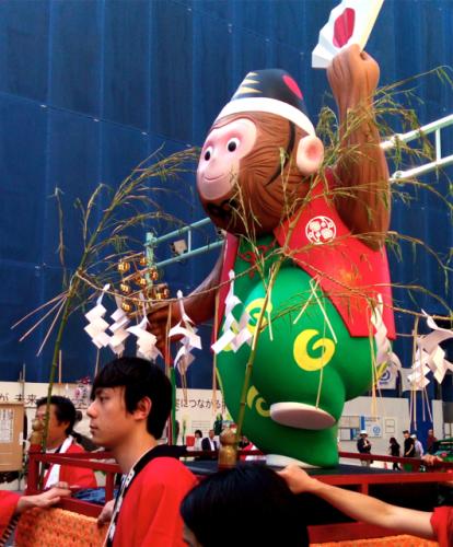日枝神社の山王祭の神幸行列  散歩_c0201876_12243814.jpg