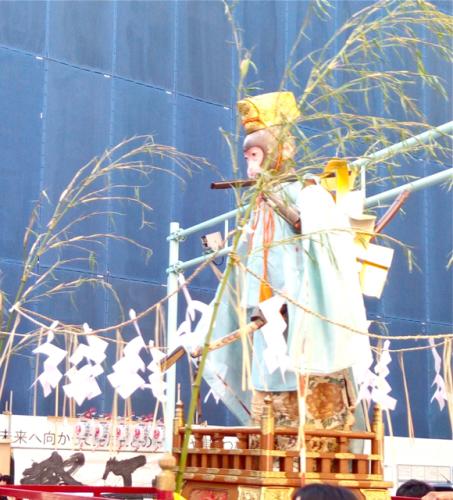 日枝神社の山王祭の神幸行列  散歩_c0201876_12243837.jpg