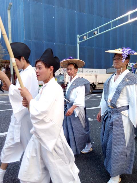 日枝神社の山王祭の神幸行列  散歩_c0201876_12243911.jpg