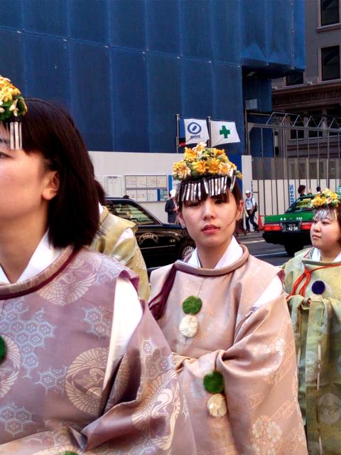 日枝神社の山王祭の神幸行列  散歩_c0201876_12243986.jpg