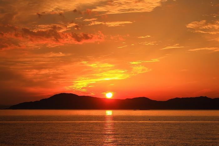 島への夕暮れ@広島 広島県じゃないよ_c0247313_2114733.jpg