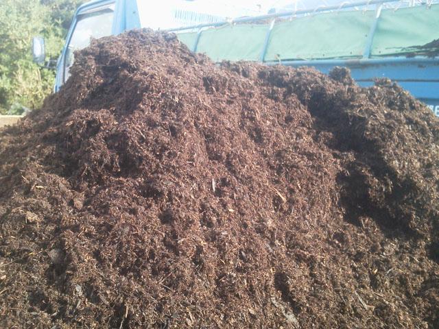 大量の堆肥_b0168320_019470.jpg